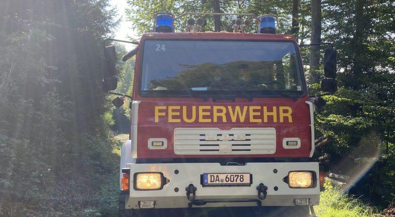 Waldbrand Groß-Umstadt